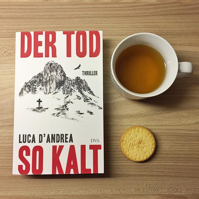 """gelesen: """"Der Tod so kalt"""" von Luca D'Andrea"""