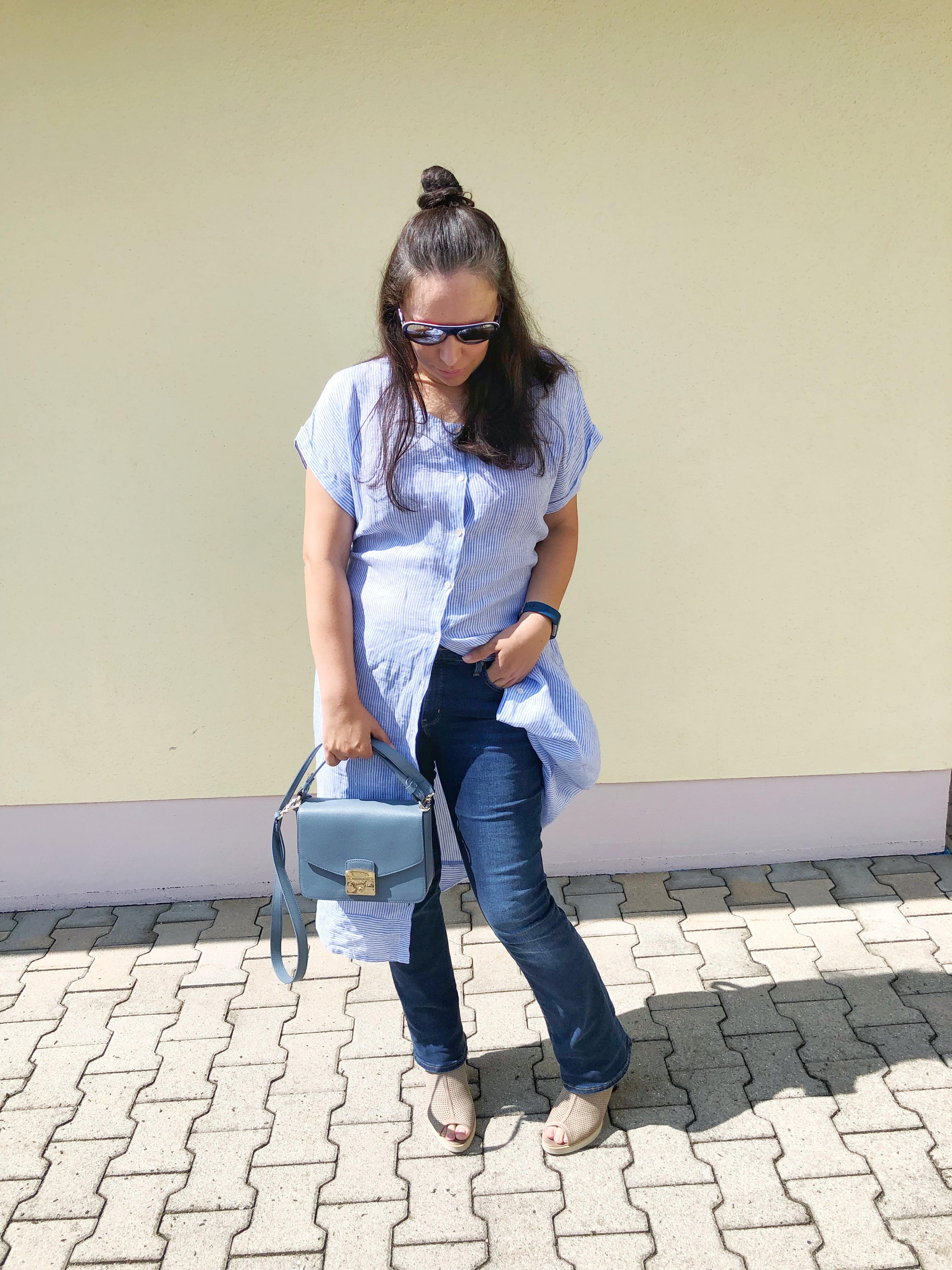 """""""Kleid über Hose"""" – ein Trend im Alltagstest"""