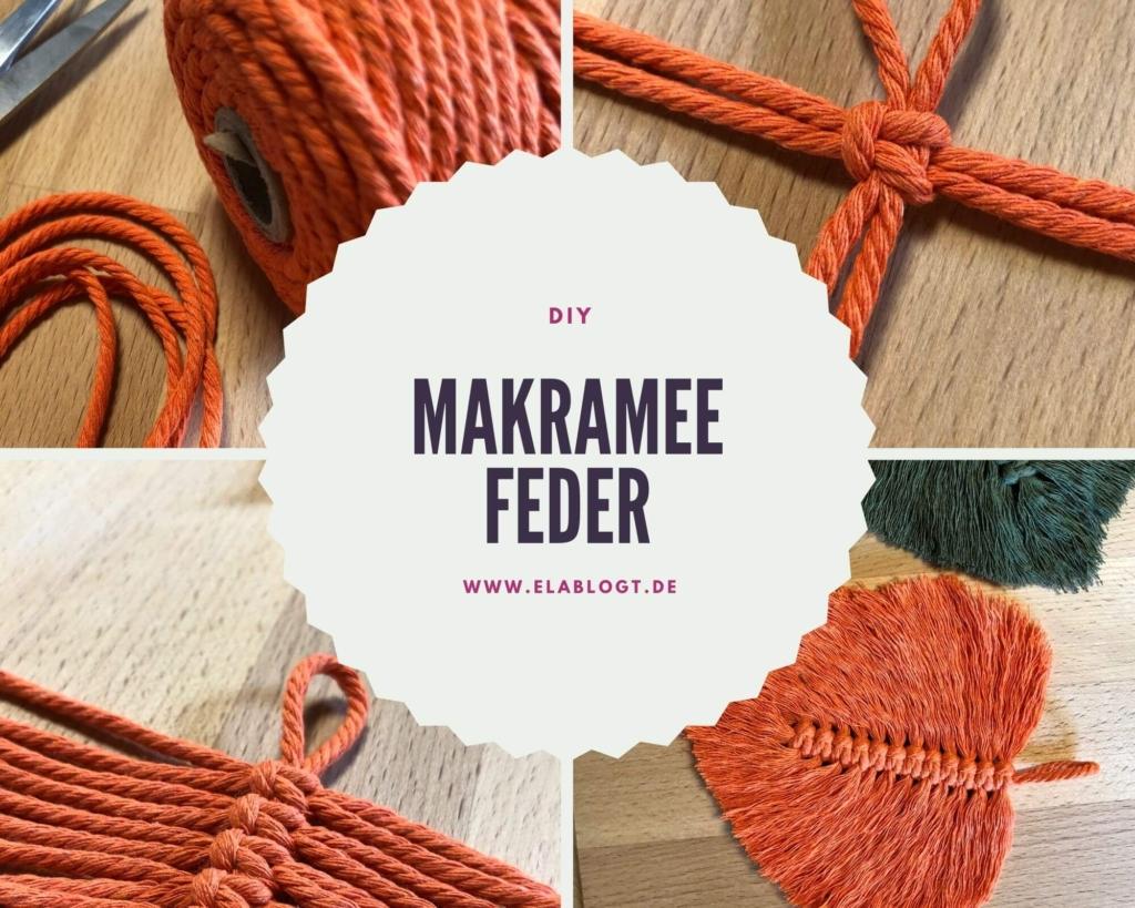 Makramee Feder